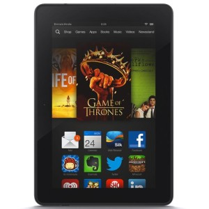 """Kindle Fire HDX 7"""", HDX Display, Wi-Fi, 16 GB - Includes Special Offers"""